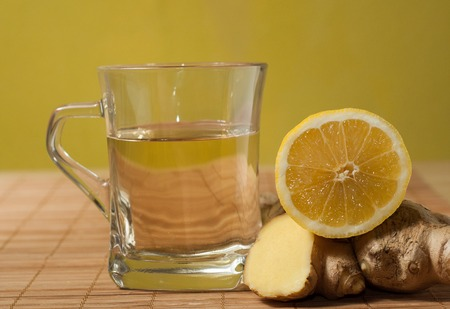Ginger Lemon Tea for Nausea