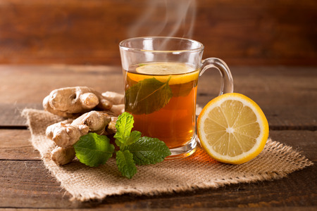 Morning Sickness Ginger Lemon Tea