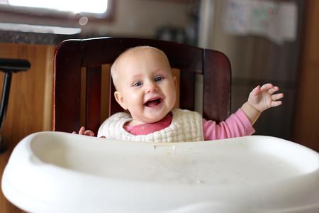 Baby 7 Months High Chair