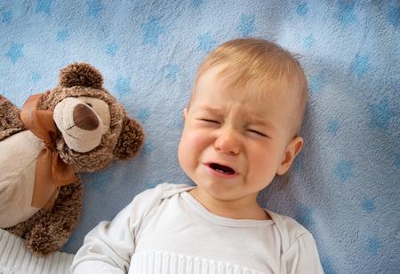 Baby Crying to Sleep