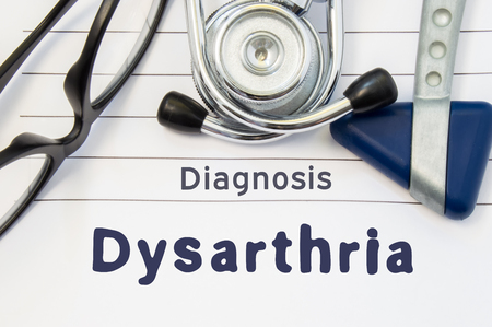 What is Dysarthria?